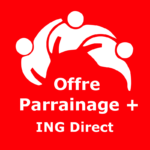 Logo Offre parrainage + ING Direct