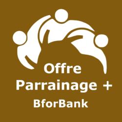 Logo Offre parrainage + BforBank