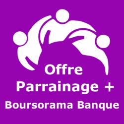 Logo Offre parrainage + Boursorama Banque